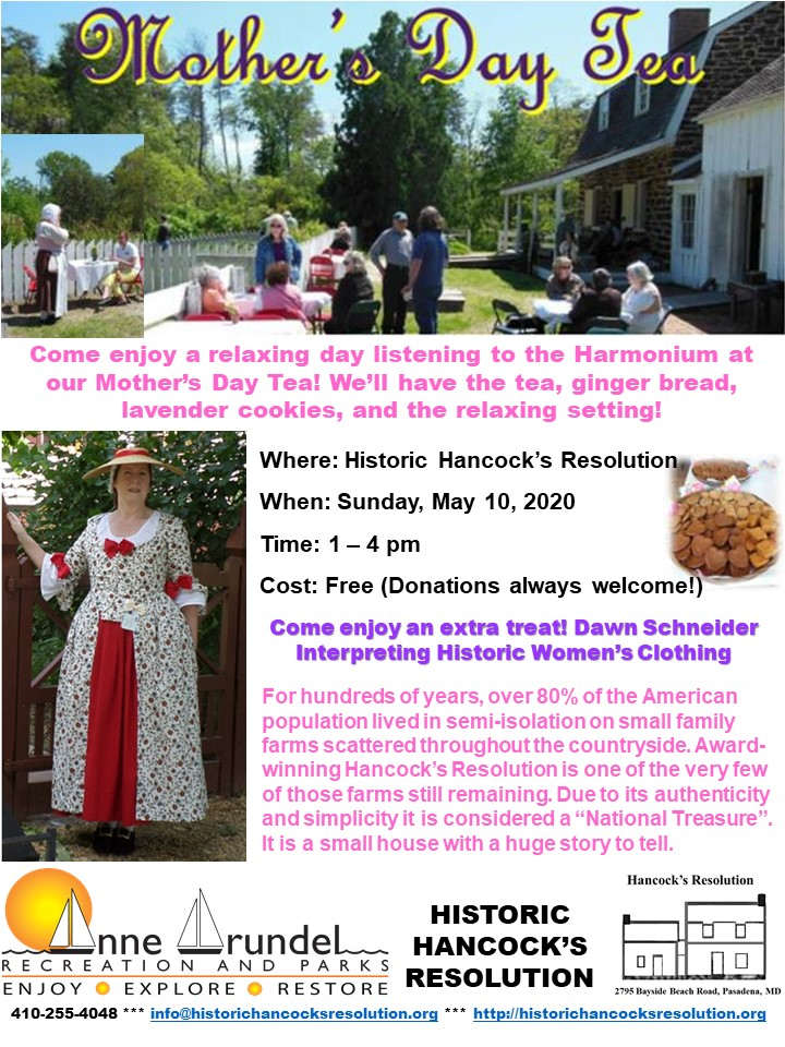 2020 Mother's Day Tea