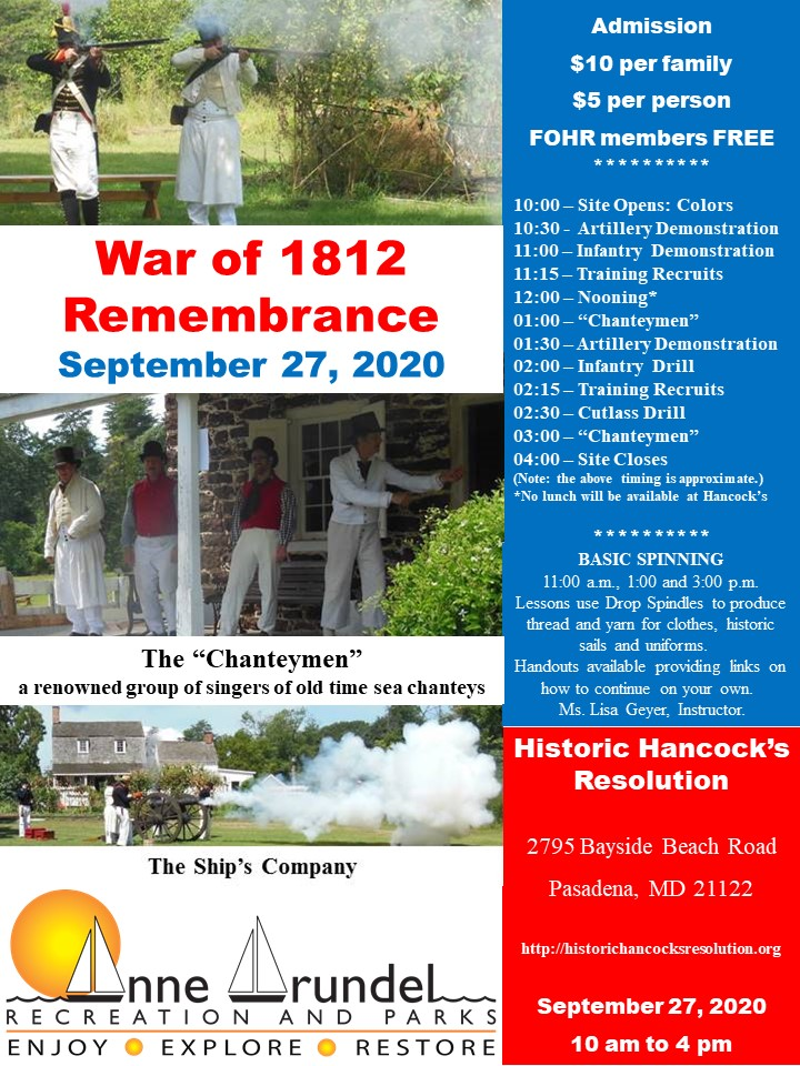 2020 War of 1812 Remembrance Day
